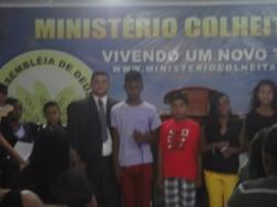 Anivers�rio do Pastor Marcos