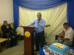Anivers�rio do Pastor Carlos Chantre 2015
