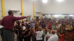 Culto de Celebra��o a noite - Preletor Pr. Nelson Santos
