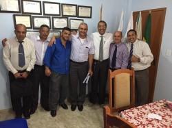 Reuni�o dos Pastores Dirigentes das Filias