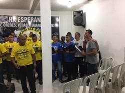 Pr�-Congresso de Homens - Colheita Piabet� (18/03/2017)