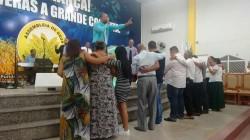 Culto de Adoração e Celebração a noite