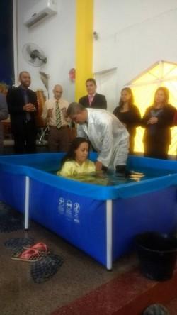 Domingo de Batismo e Santa Ceia