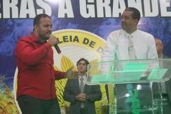 Agradecimento � Deus pelo Anivers�rio Pastor Presidente Nelson Santos