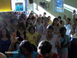 Inauguração da Congregação de Caxias