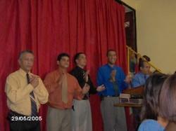 Inaugura��o da Congrega��o de Caxias