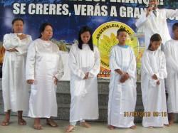 Batismo nas �guas Purificadoras!