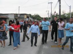 Caminhada Evangel�stica e Consagra��o de Obreiros
