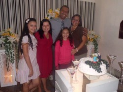 Anivers�rio do Pastor Presidente Nelson Santos