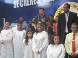 Candidatos para o Batismo