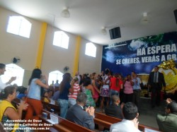 Anivers�rio do Pastor Nelson Santos 1