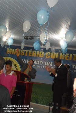 Anivers�rio do Pastor Antonio Marcos