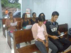 Classe do Curso para Batismo.