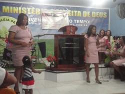 ANIVERS�RIO DO CONJUNTO DAS IRM�S E HOMENAGEM PELO ANIVERS�RIO DE CASAMENTO DO PASTOR! (Congrega��o Itabora�)