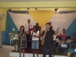 Celebra��o pelo Anivers�rio do Pastor Antonio Marcos