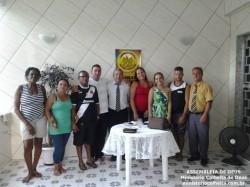 Casa do A�lton e Angela - Obreiros Enviados Pb. Marcelo, Ob.� Angela e Ob. Luiz