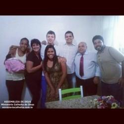Casa do Ob. Ramon e Danielle - Obreiros Enviados Ob. Rodrigo, Ob. Diego e Ob. Tamellon