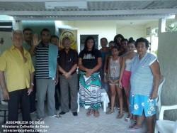 Casa da Ob.� Hilda e Jo�o - Obreiros Enviados Pb. Paulo e Dc. Adelito