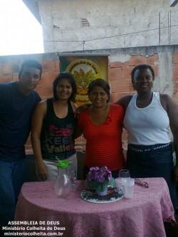 Casa da Itamar e Adriano - Obreiros Enviados Miss.� Luciene e Dc.� Adriana