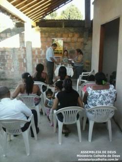 Casa da Sabrina e Leonardo - Obreiros Enviados Dc.� Vera, Dc.� Jussara e Ob. Moacyr