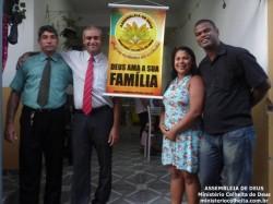 Casa do Alberto e Vanessa - Obreiros Enviados Pb. Fanor e Dc. Ant�nio